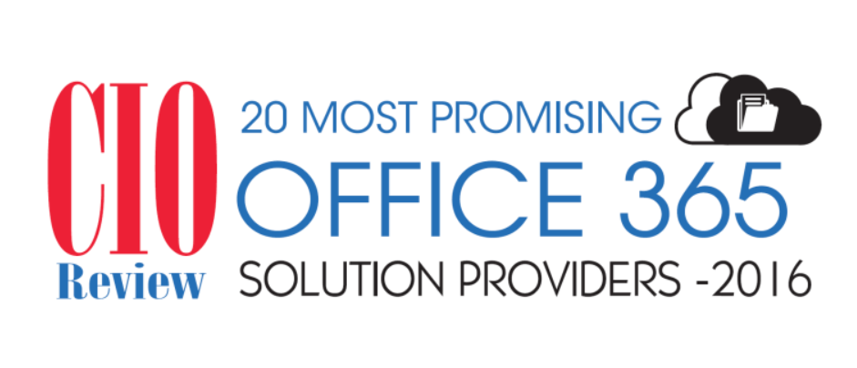 AddIn365 recognised by CIOReview as top Office 365 Solution Provider 2016