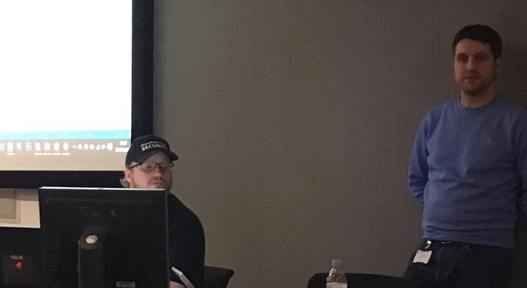 Wes Hackett At Presentation