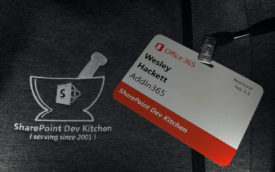 AddIn365 invited to attend the SharePoint Dev Kitchen