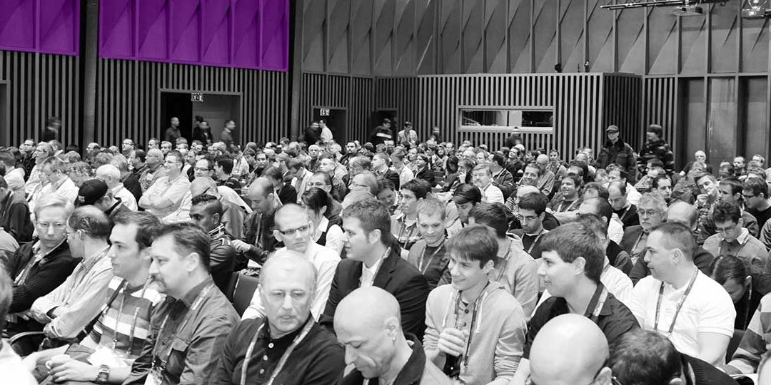 People Sitting At Microsoft Techdays Event