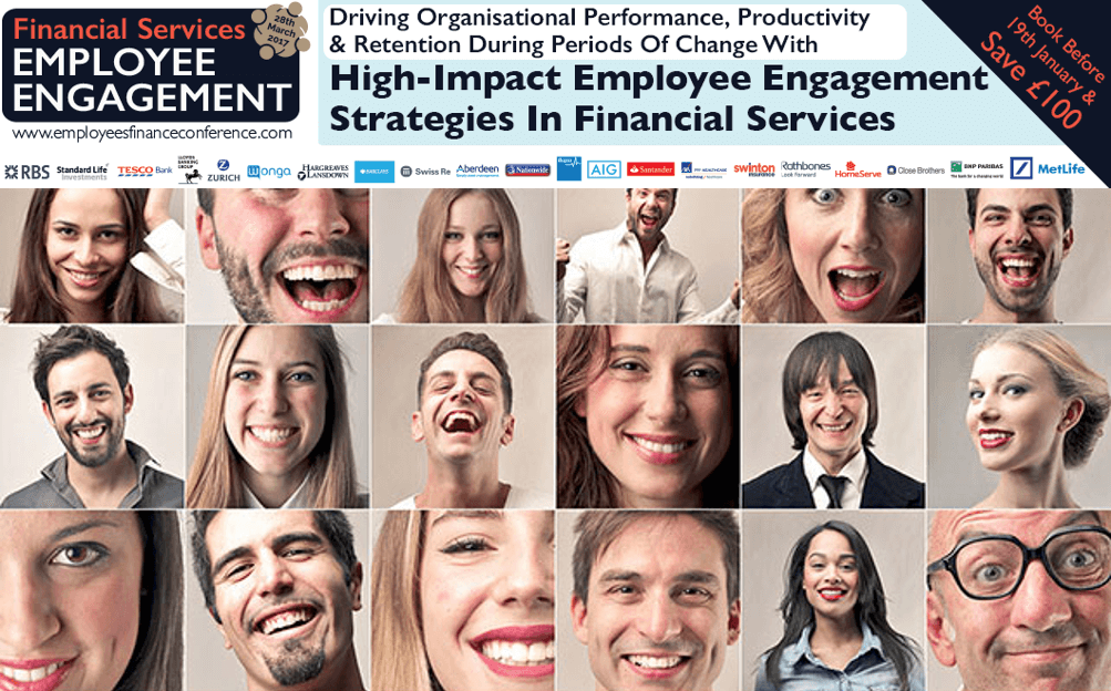 Financial Services Employee Engagement Advert