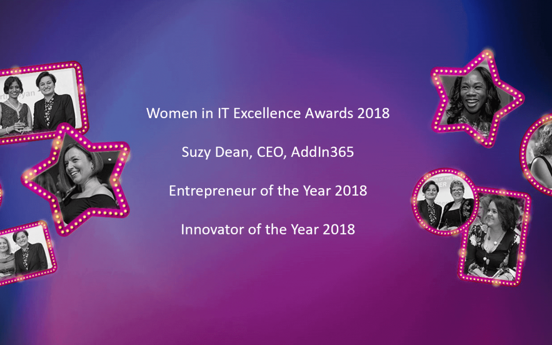 AddIn365 CEO shortlisted for Computing Magazine's Women in IT Excellence Awards 2018