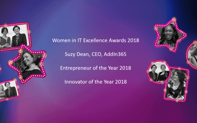 AddIn365 CEO Suzy Dean Shortlisted For Two Women In IT Excellence Awards 2018